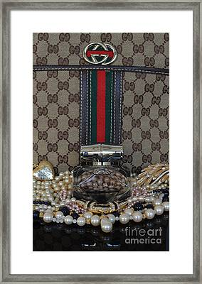 Gucci Bamboo 6 Framed Print by To-Tam Gerwe