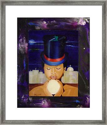 Guede Framed Print by Neg Ayiti