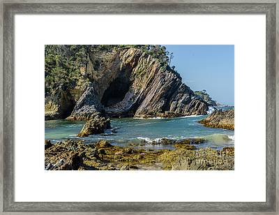 Framed Print featuring the photograph Guerilla Bay 4 by Werner Padarin