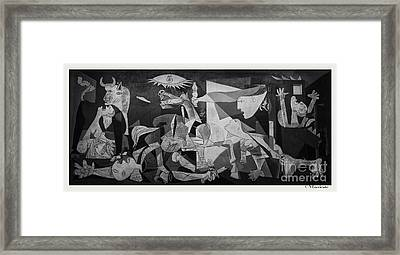 F 38 Guernica Photo  Framed Print by Norberto Torriente