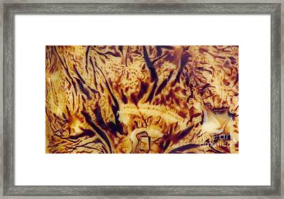 Guess What ? Framed Print