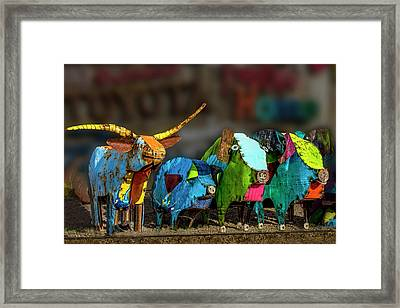 Framed Print featuring the photograph Guess Who's Coming To Dinner by Paul Wear
