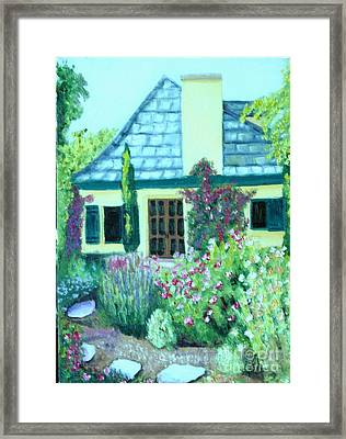 Guest Cottage Framed Print