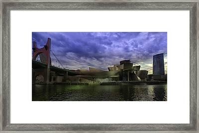 Guggenheim Bilbao Framed Print