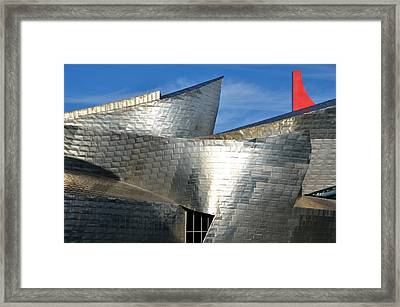 Guggenheim Museum Bilbao - 5 Framed Print by RicardMN Photography