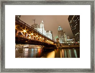 Guide Me Across The River Framed Print by Daniel Chen