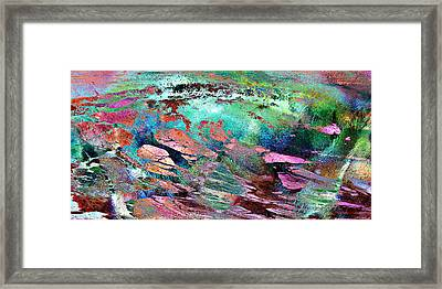Guided By Intuition - Abstract Art Framed Print