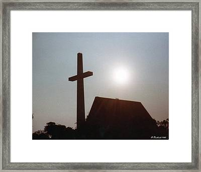 Framed Print featuring the photograph Guiding Light by Betty Northcutt
