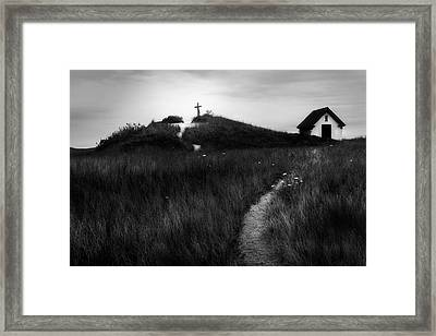 Framed Print featuring the photograph Guiding Light by Bill Wakeley