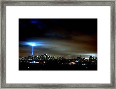 Guiding Light  Framed Print by Brian  Vitagliano