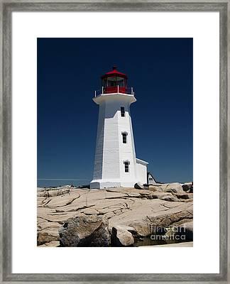 Guiding Light Framed Print by Kelvin Booker
