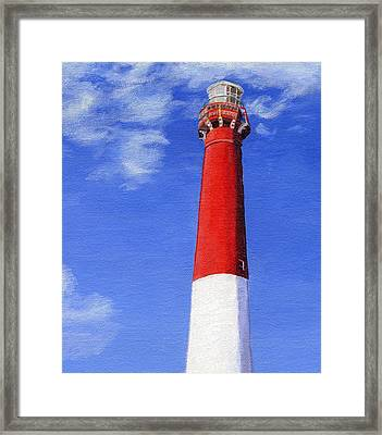 Framed Print featuring the painting Guiding Light by Lynne Reichhart