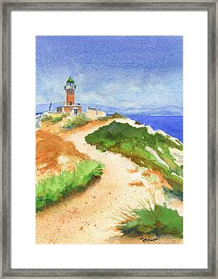 Guiding Light Framed Print