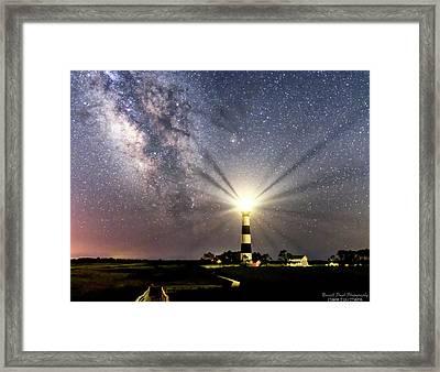 Guiding Light Framed Print