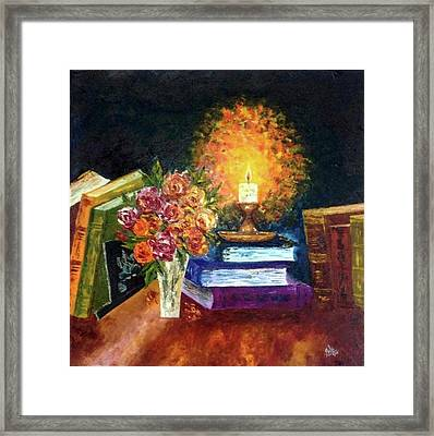Guiding Light Framed Print by Shilpi Singh