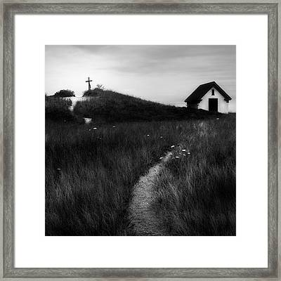 Framed Print featuring the photograph Guiding Light Square by Bill Wakeley