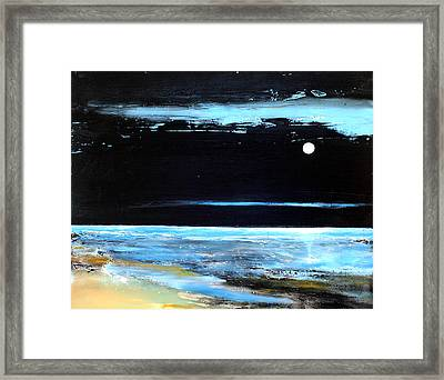 Guiding Light Framed Print by Toni Grote