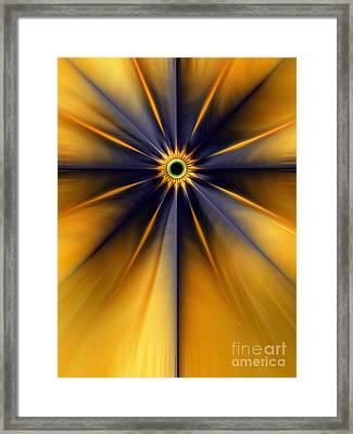 Guiding Star Framed Print
