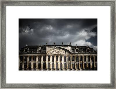 Guild Houses Framed Print by Chris Fletcher