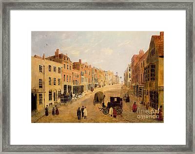 Guildford High Street Framed Print