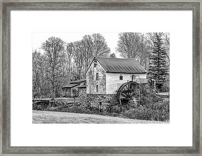 Guilford Mill Framed Print by Paul Malcolm