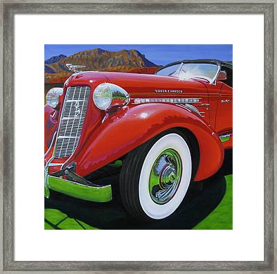 Guilty As Charged Framed Print by Lynn Masters
