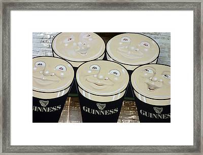 Guiness Time 2 Framed Print