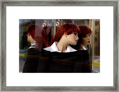 Guinevere Framed Print by Jez C Self
