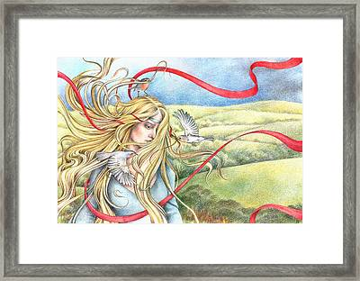 Guinevere Framed Print by Johanna Pieterman