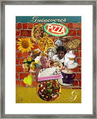 Guinevere's Sunflowers Framed Print by Jose A Gonzalez Jr