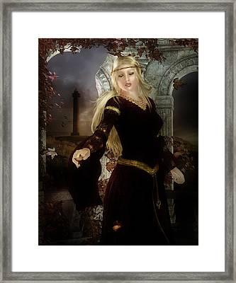 Guinevere's Tears Framed Print by Mary Hood