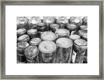 Guinness And Absolut Framed Print by Dean Harte