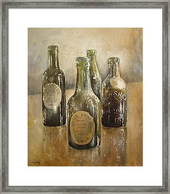 Guinness Collection Framed Print by Tomas Castano