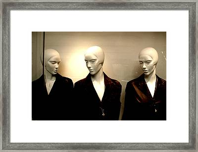 Guinness Girls Framed Print by Jez C Self