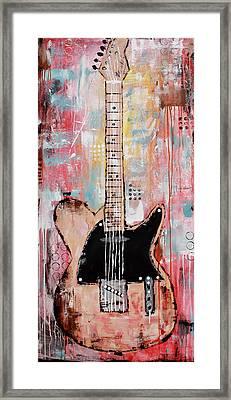 Guitar 11 Framed Print
