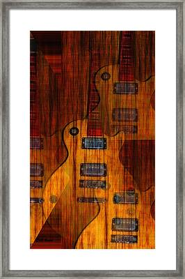 Guitar Army Framed Print by Bill Cannon