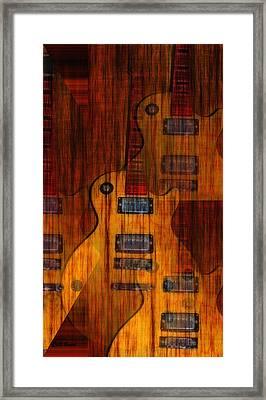 Guitar Army Framed Print