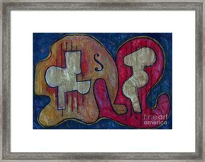 Guitar Framed Print by Dan Earle