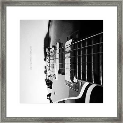 The Guitar  Framed Print