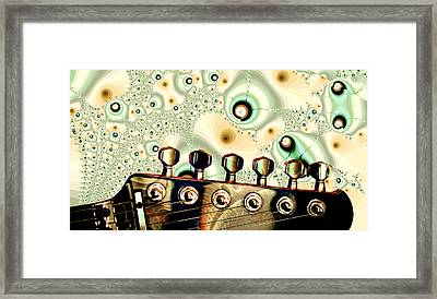 Guitar Head - Fantasy - Musical Instruments Framed Print