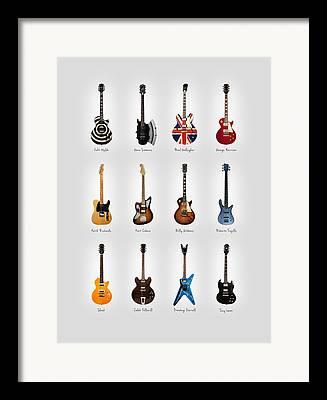 Keith Richards Photographs Framed Prints