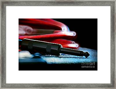 Guitar Jack Framed Print