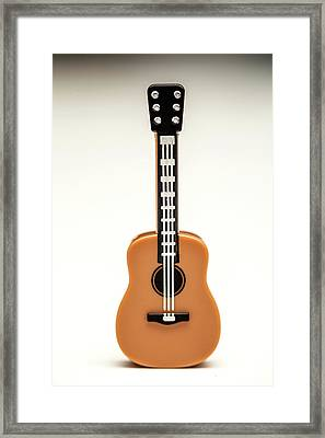 Guitar Framed Print by Samuel Whitton