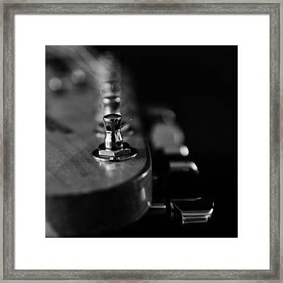 Guitar Close Up 2 Framed Print