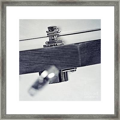guitar V Framed Print