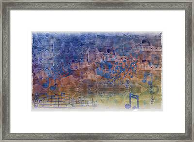 Guitargasm Framed Print by Bill Cannon