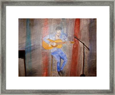 Guitarrist Framed Print