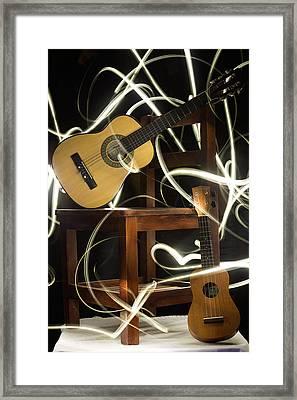Guitars23 Framed Print