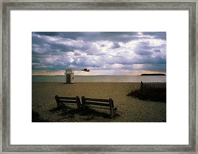 Framed Print featuring the photograph Gulf Beach by John Scates
