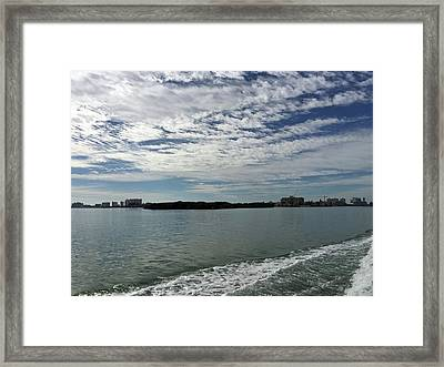 Gulf Coast At Clearwater Florida Framed Print by Aimee L Maher Photography and Art Visit ALMGallerydotcom